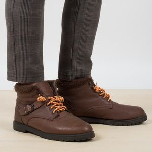 Vintage Leather Hiking Boots